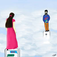Chating in Virtual World by unnibabu