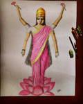 Lakshmi devi (Goddess of fortune)