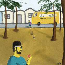 School Days for a jobless man by unnibabu
