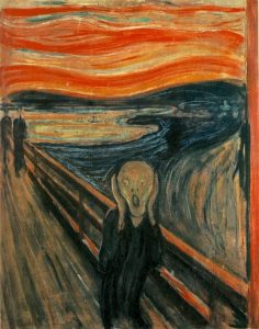 603px-The Scream-236x300 by unnibabu