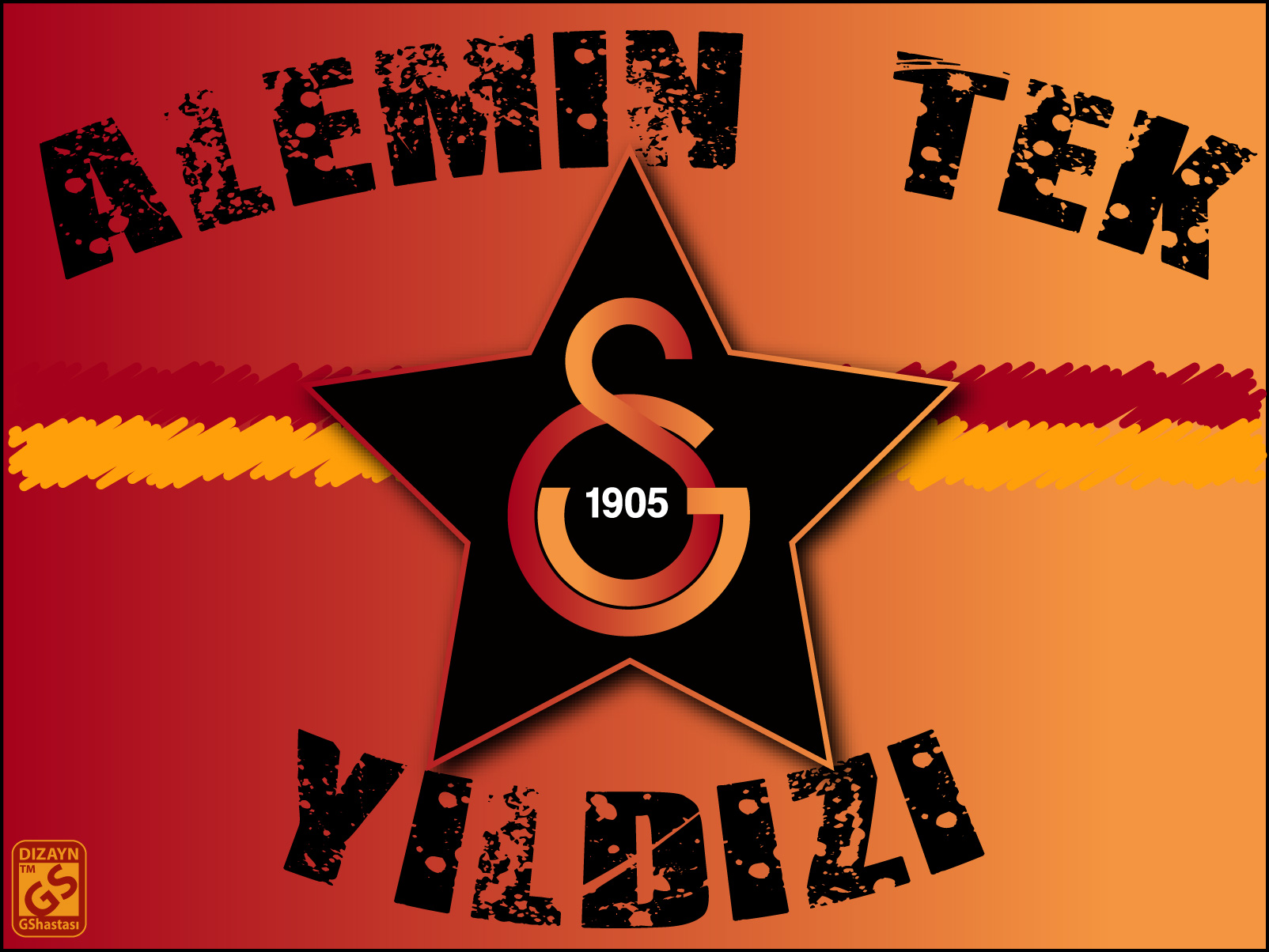 Tek Yildiz Galatasaray by GShastasi Galatasaray HD masaüstü duvar kağıdı resimleri