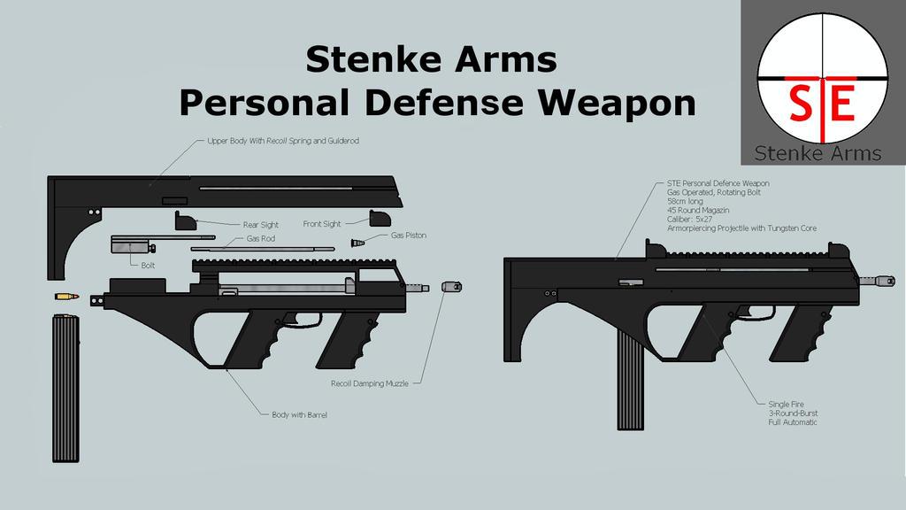 Stenke Arms Personal Defense Weapon by DerShishaGott