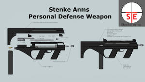 Stenke Arms Personal Defense Weapon