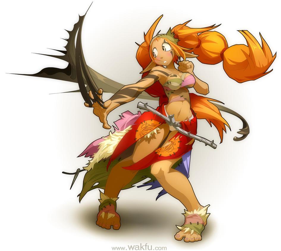 Sacrier for the game 'Wakfu' by xa-xa-xa