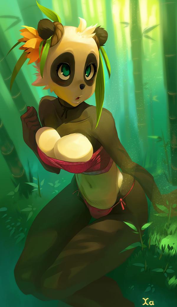 Panda girl by xa-xa-xa