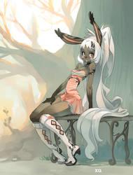 Bunny Girl by xa-xa-xa