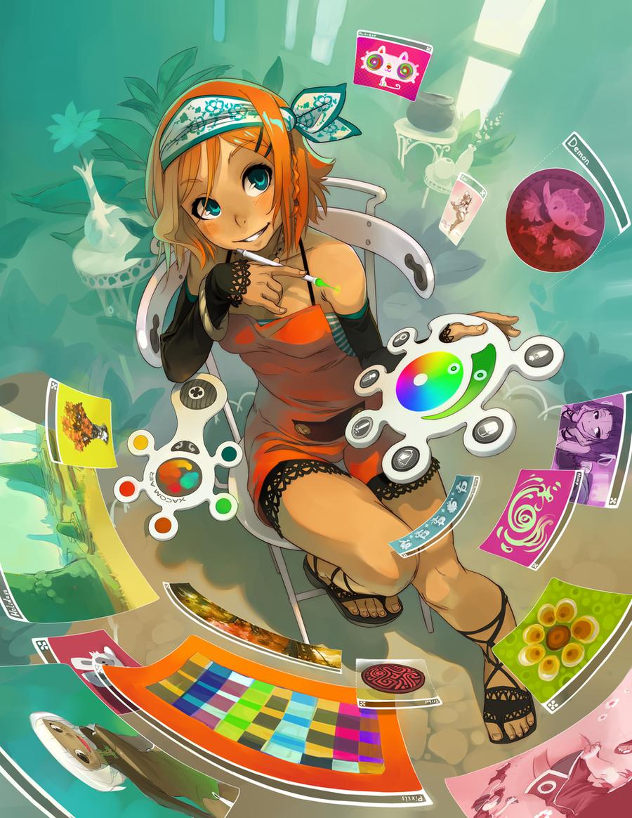 Xa Colors Cover by xa-xa-xa