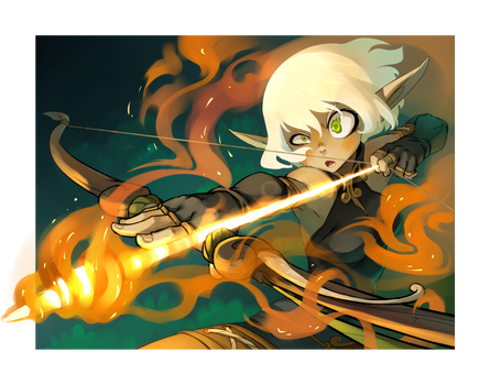 Evangelyne for WAKFU TCG card