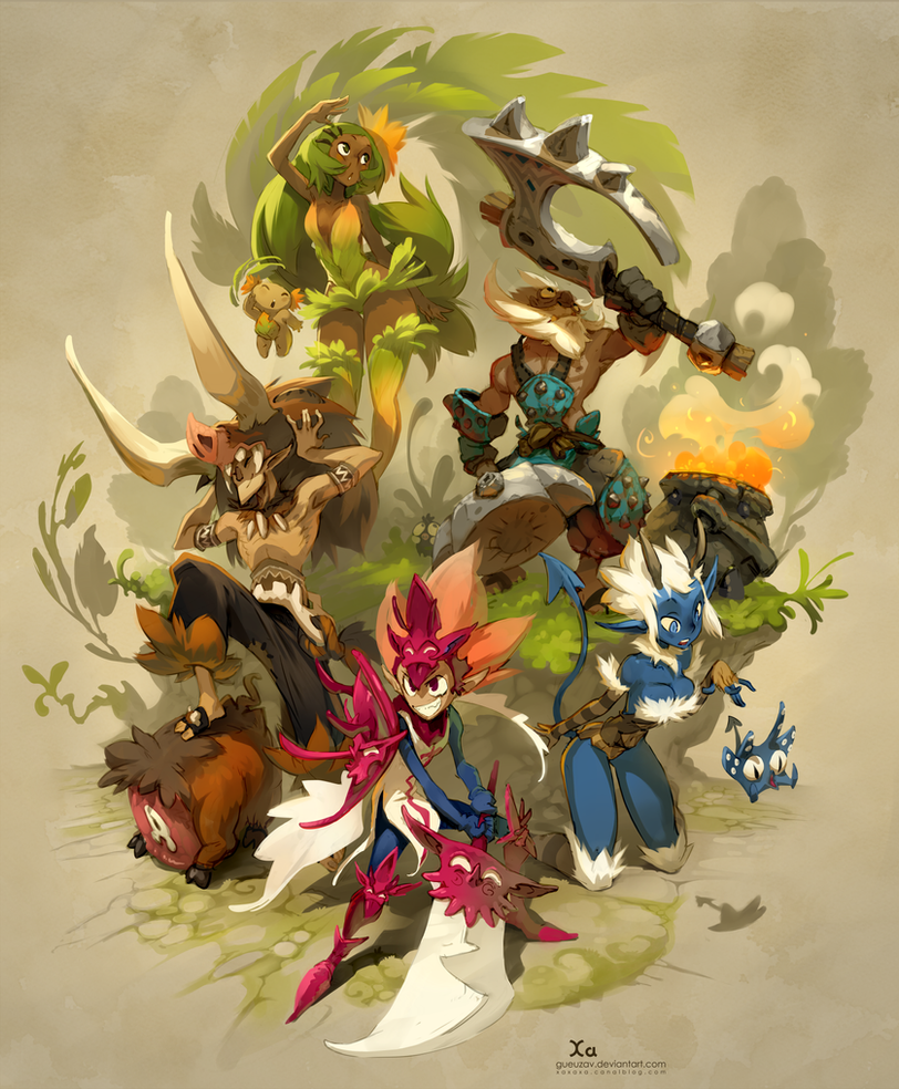 Wakfu MMORPG Available on Steam ! by xa-xa-xa
