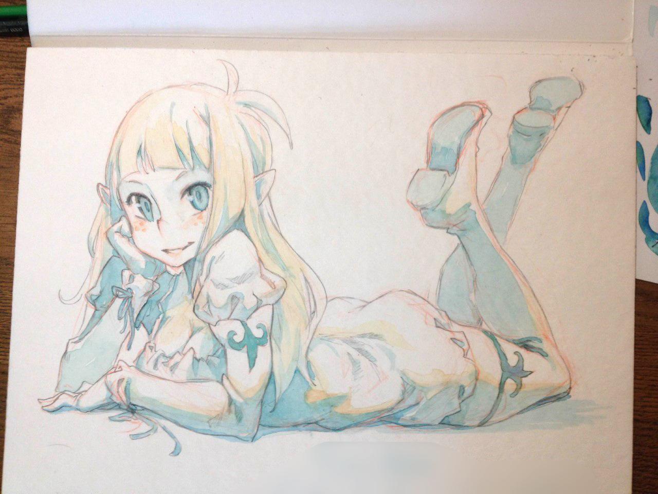 Bakara Watercolor by xa-xa-xa