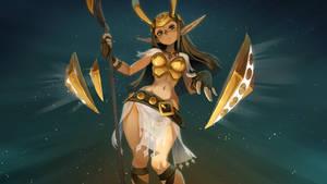 Feca Goddess by xa-xa-xa