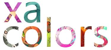 Logo Xa Colors Petit Format by xa-xa-xa