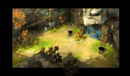 old Dofus 3 Background test