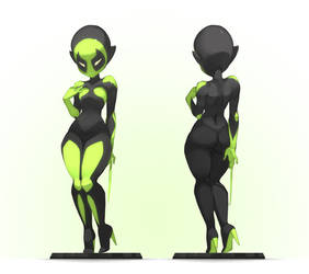Toxine Figure by xa-xa-xa