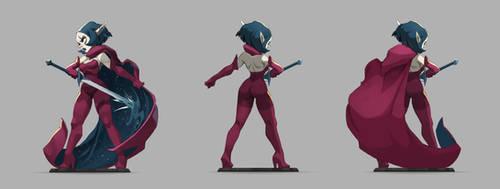 Julith Figure by xa-xa-xa