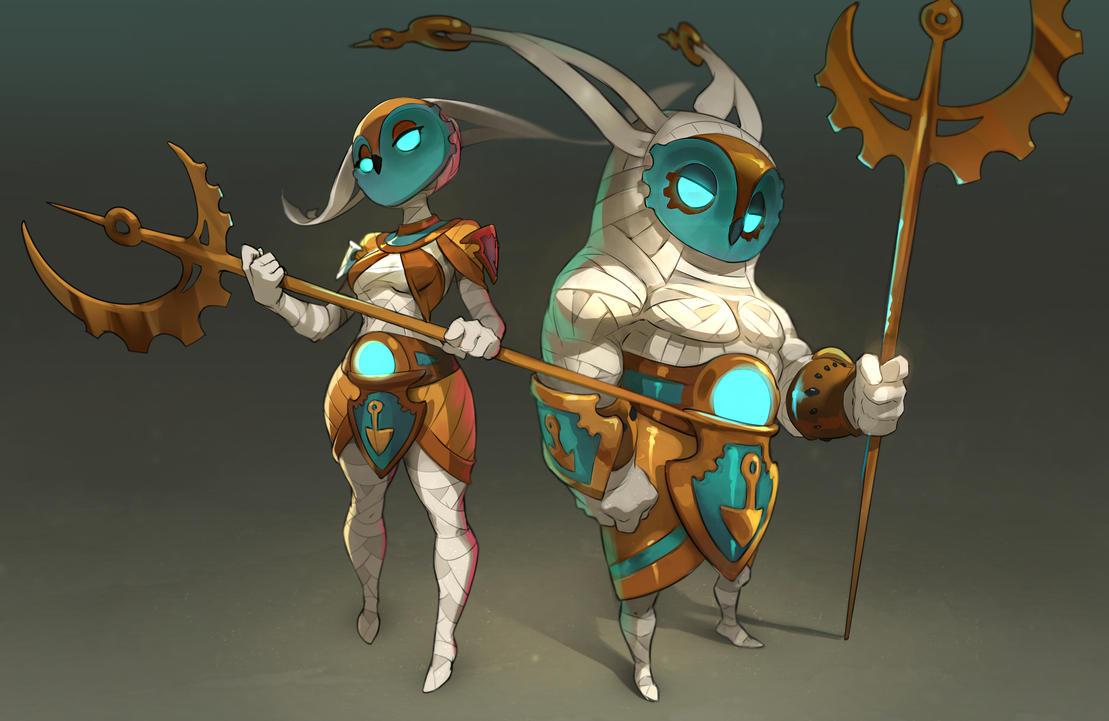 Krosmaga characters by xa-xa-xa