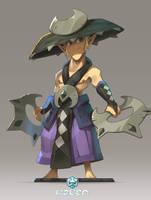Character for the game Waven by xa-xa-xa