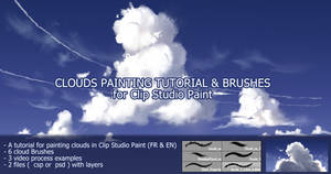 clouds brushes and tutorials