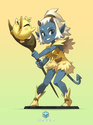 Osamodas character For the Game Waven