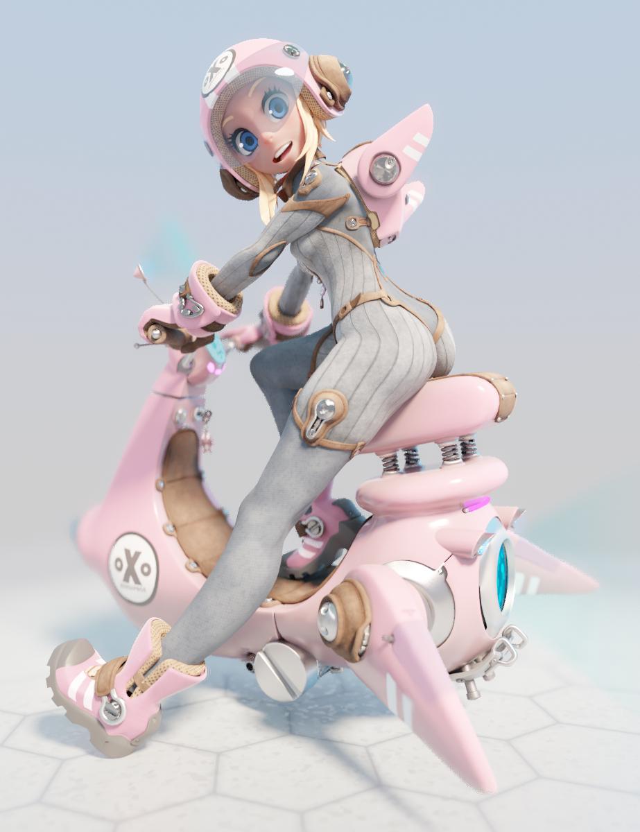 sci-fi Scooter