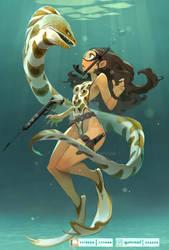 Hunted huntress