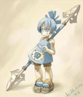 Little warrior by xa-xa-xa