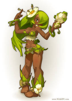 Sadida for the game 'Wakfu'