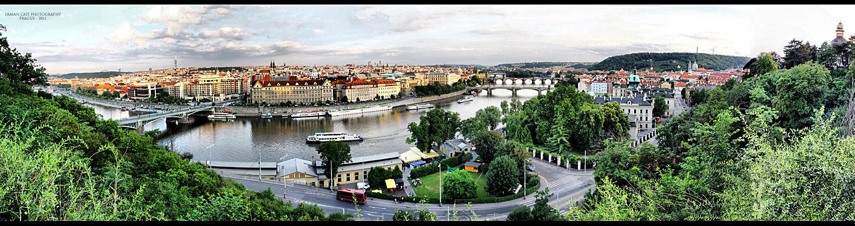 Prague Panorama - I by rushofdeath
