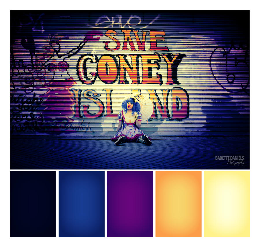 Coney Island - Sad Clown Color Sample by TheBabs