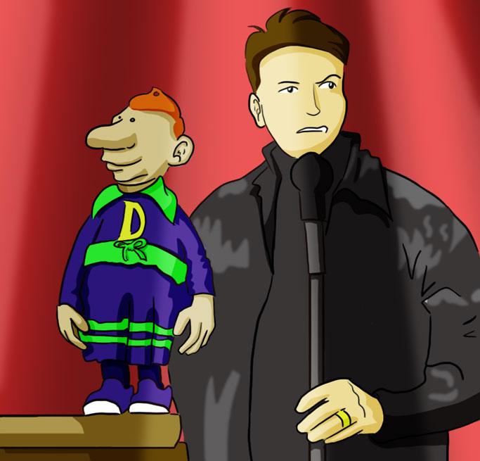 Jeff Dunham Super Hero Characters