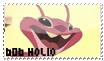 606 Holio stamp by OxAmy