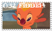 032 Fibber stamp by OxAmy