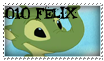 010 Felix stamp by OxAmy