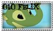 010 Felix stamp by OxAmy
