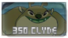 350 Clyde stamp by OxAmy
