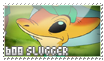 608 Slugger stamp by OxAmy