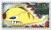 603 Zap stamp by OxAmy
