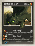 Toothless card
