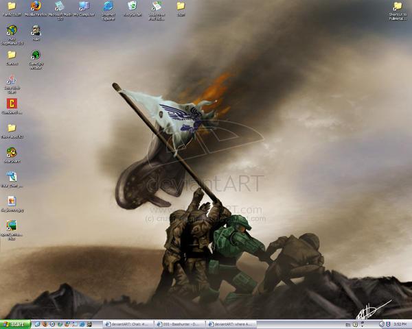 Mah Desktop by MyFullm3talHeart