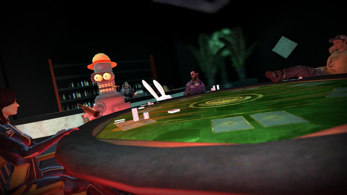 Poker Night 3: Dilly Edition by DilbertnaKabuto on DeviantArt