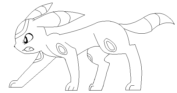Umbreon Coloring Pages Coloring Pages