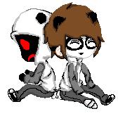 Pixel Panda Masky And Hoods by VanitasAquias