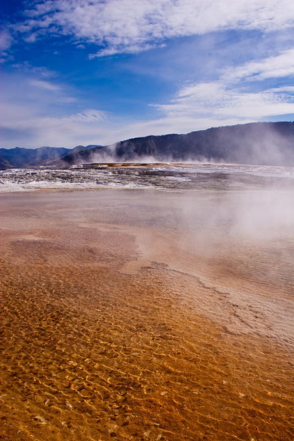 Mammoth Hot Springs II by DrDnar