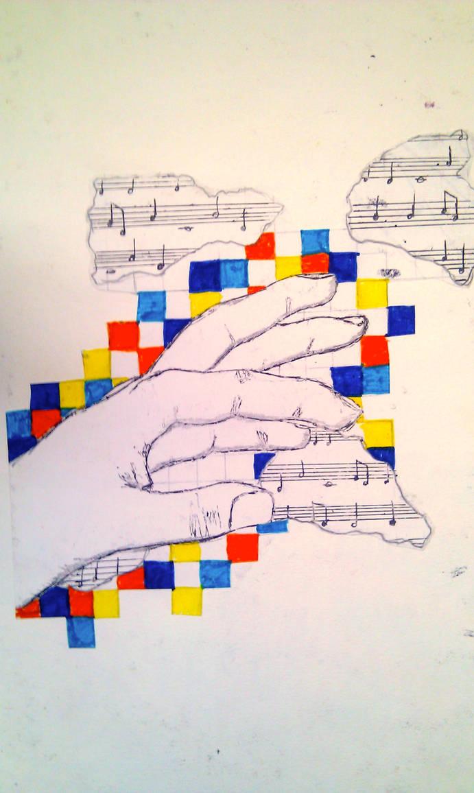 Musical Hand by Kkyee