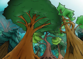 forest background 1