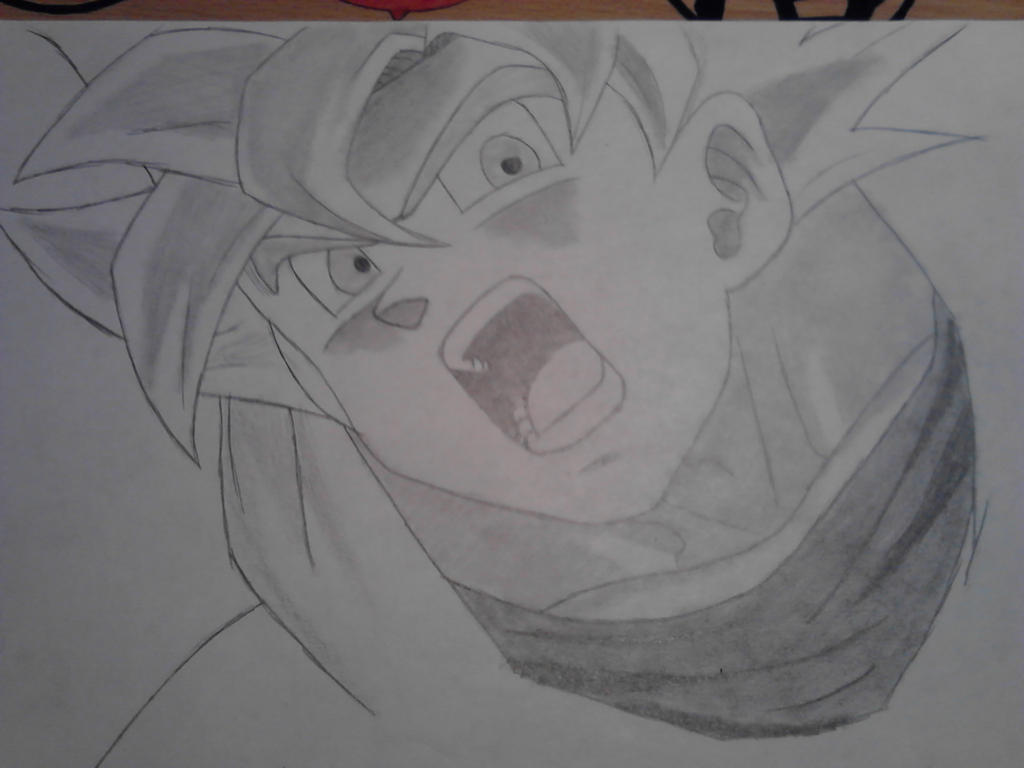 Dbz Goku Ssj God Drawings Dbz Goku Ssj God Drawings