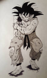 Goku by LadyAlvarez