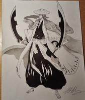 Shunsui Kyoraku by LadyAlvarez