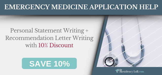Emergency Medicine LoR Writing Services by ResidencyLoR2019