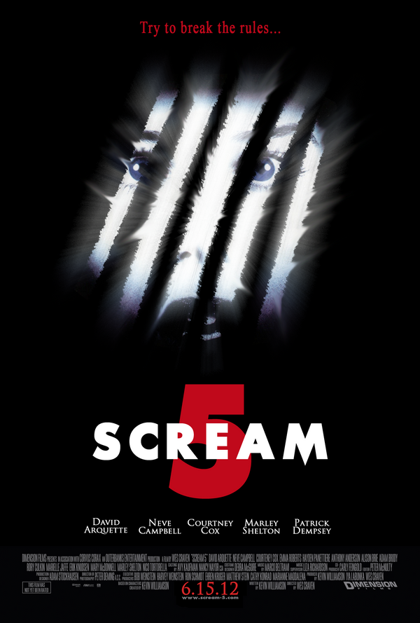 Scream 5 - Poster teaser by Graphuss on DeviantArt